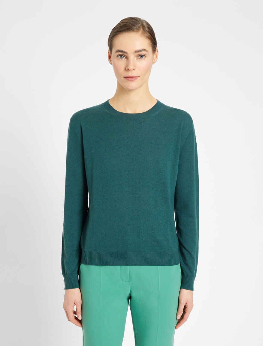 Cashmere and wool yarn sweater Weekend Maxmara