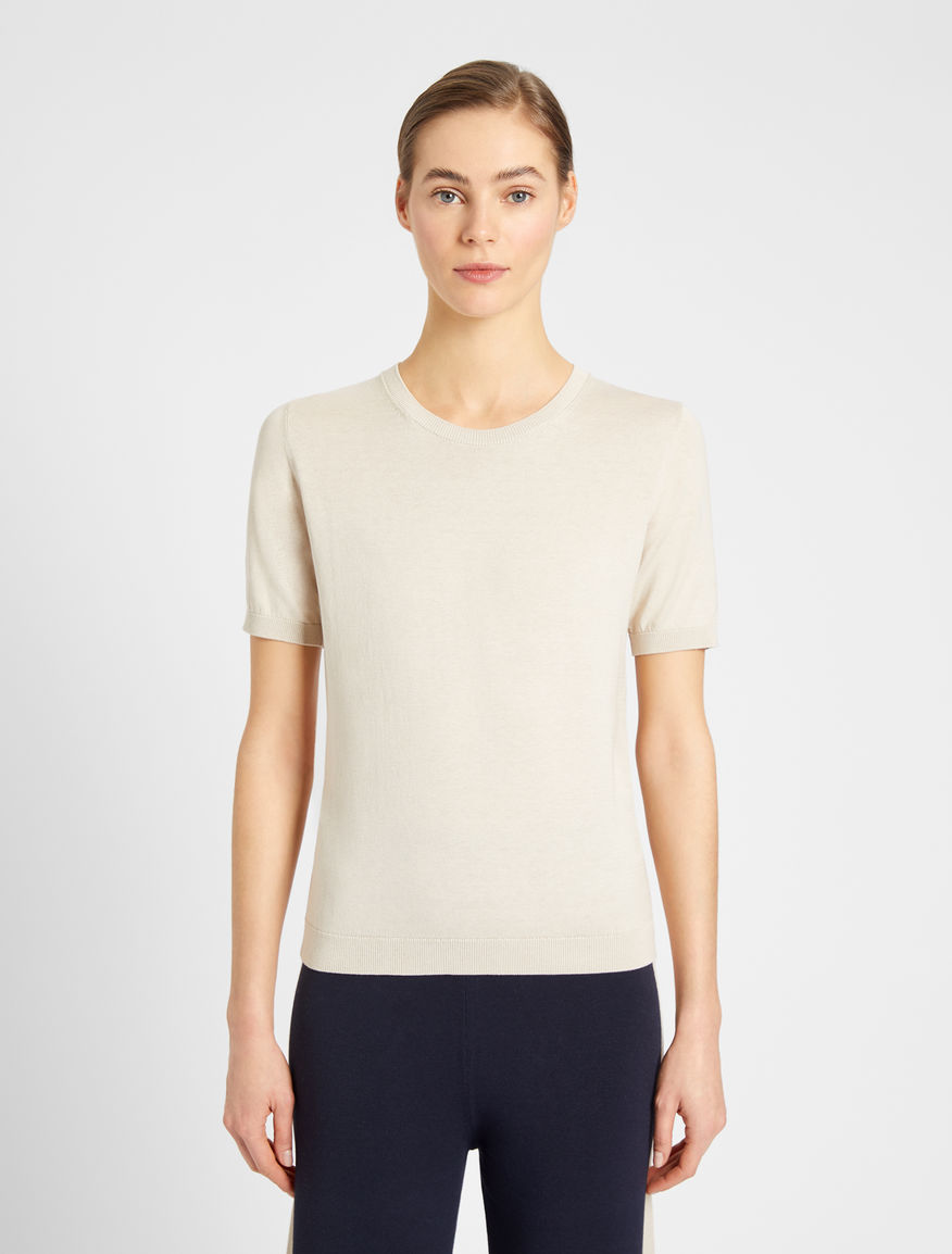 Silk and cotton yarn sweater Weekend Maxmara