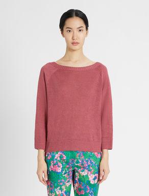 Linen cordonnet pullover Weekend Maxmara
