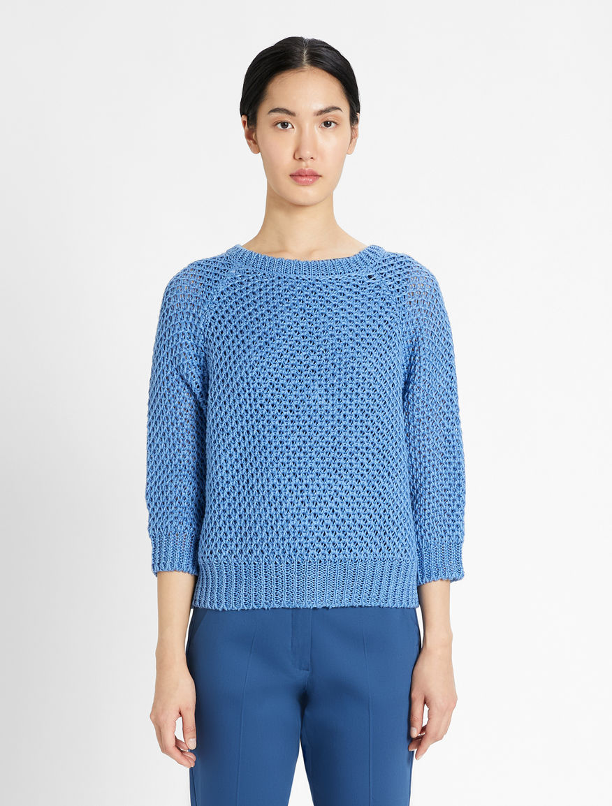 Linen knit pullover Weekend Maxmara