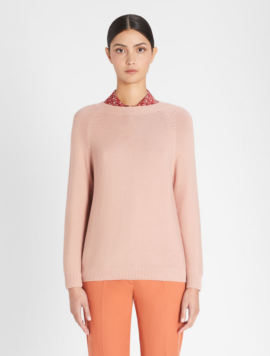 Cotton cordonnet sweater Weekend Maxmara