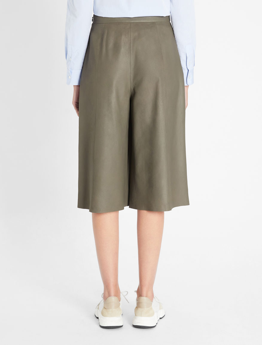 Nappa leather culottes Weekend Maxmara