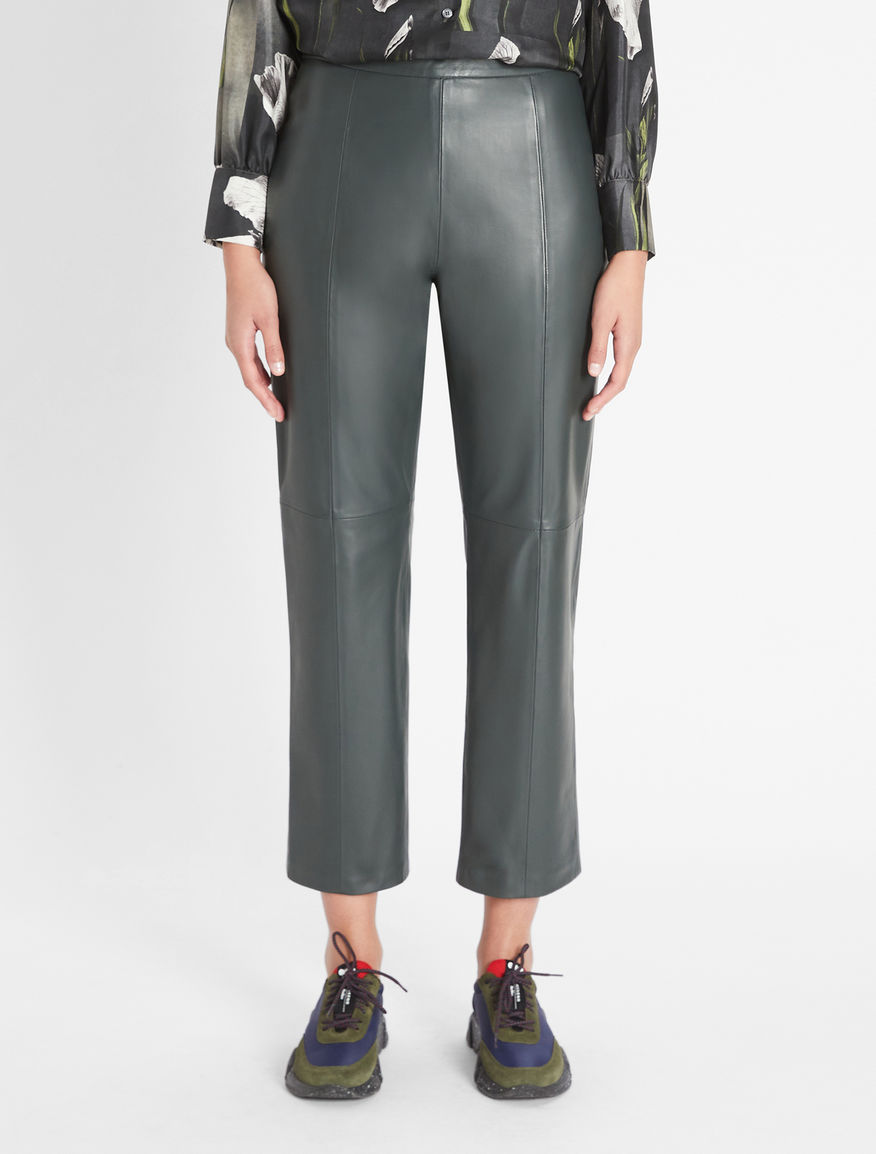 Nappa leather trousers Weekend Maxmara