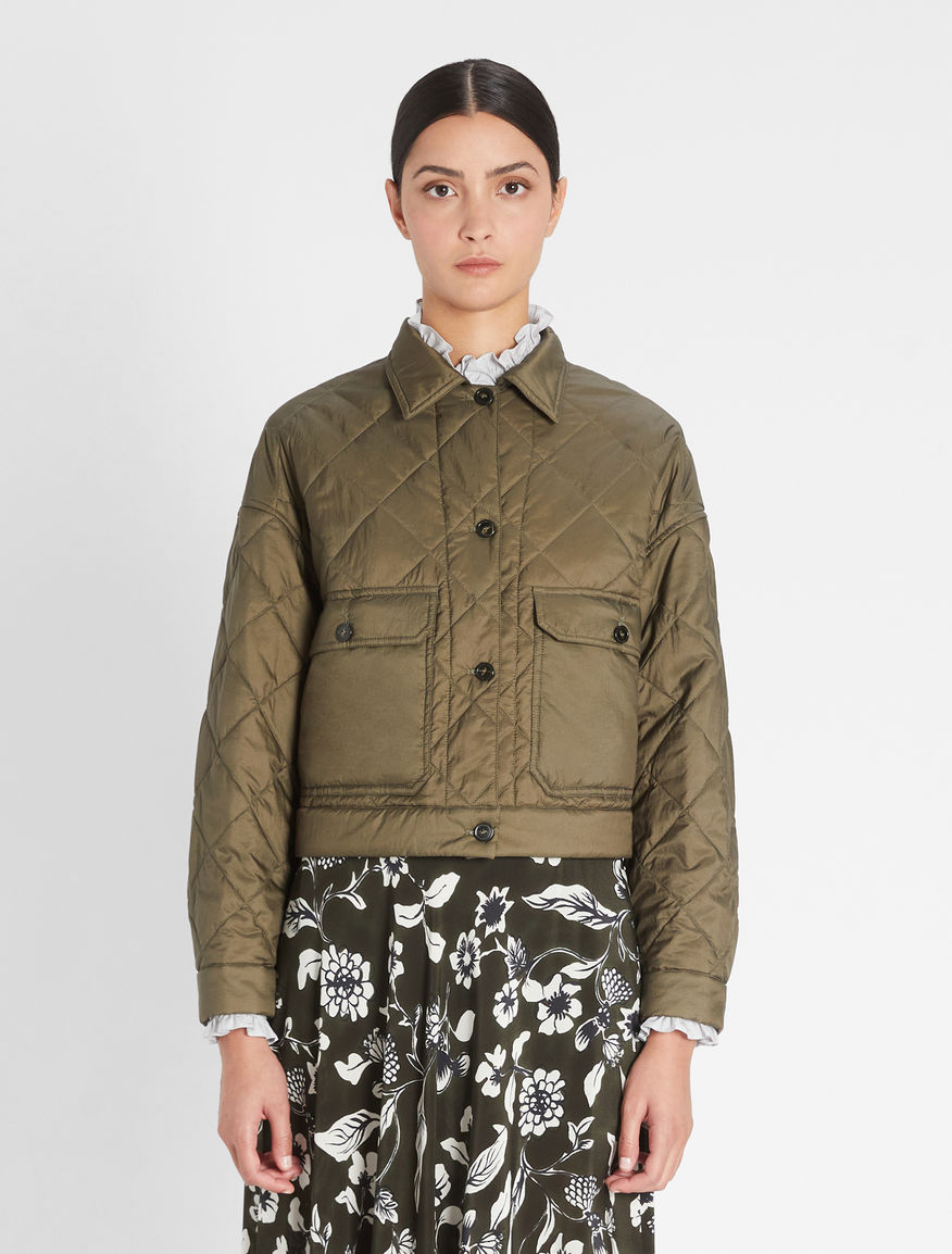 Water-repellent canvas blouson jacket Weekend Maxmara