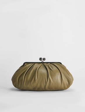 Large plongé nappa Pasticcino Bag Weekend Maxmara
