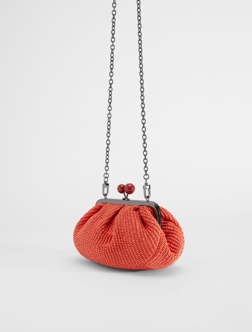 Small raffia Pasticcino Bag Weekend Maxmara