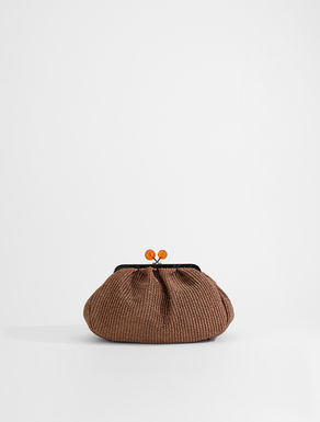 Pasticcino Bag in rafia Weekend Maxmara