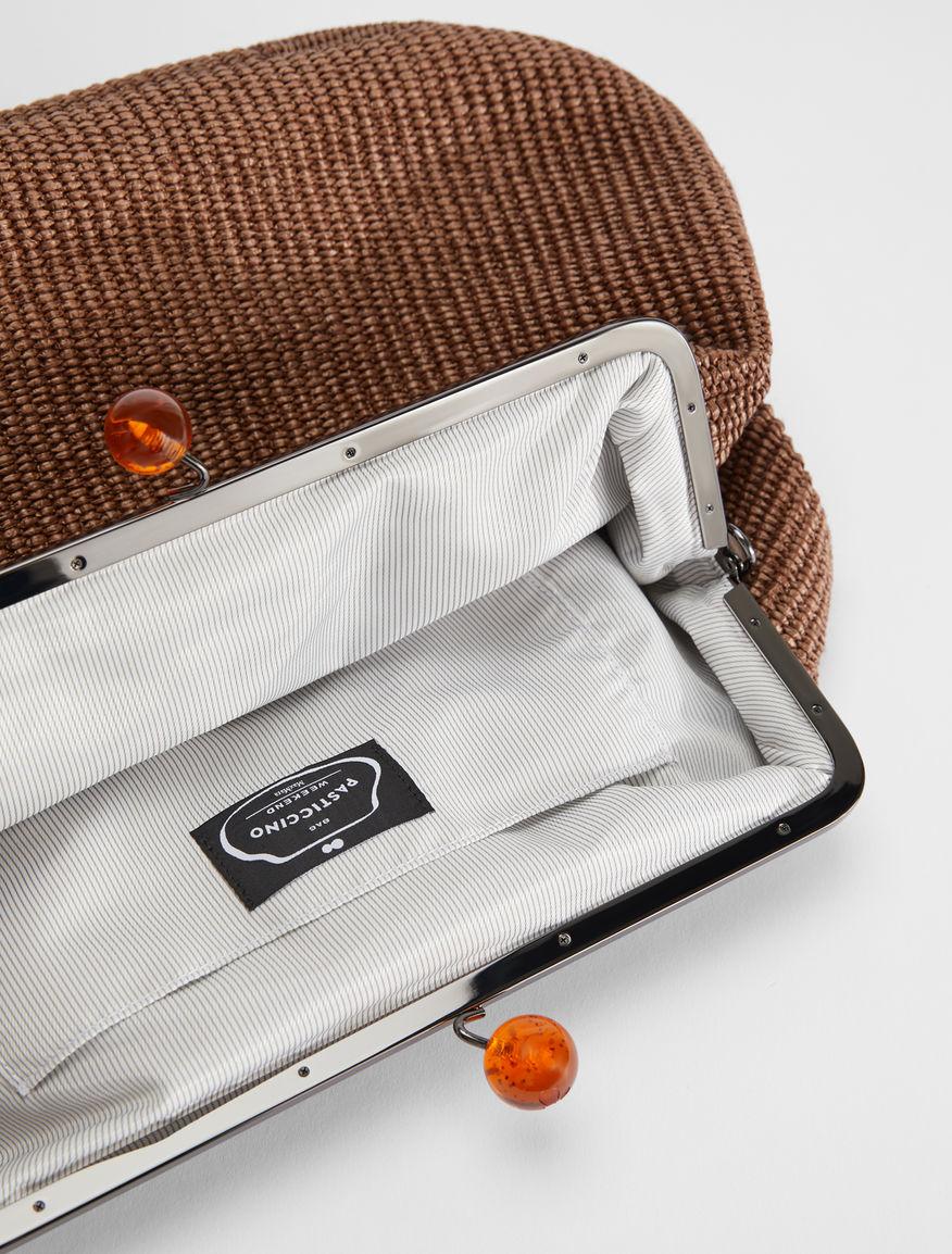 Large raffia Pasticcino bag Weekend Maxmara