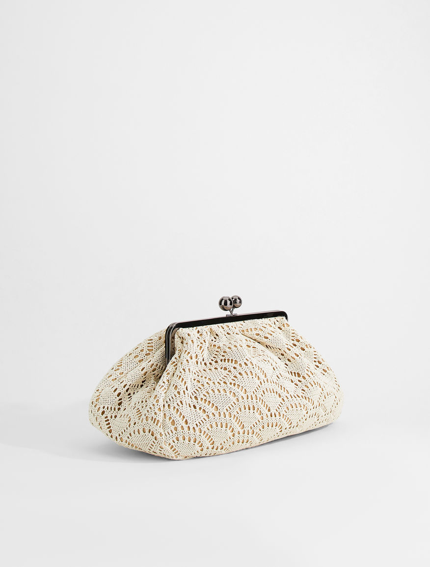 Large crochet fabric Pasticcino Bag Weekend Maxmara
