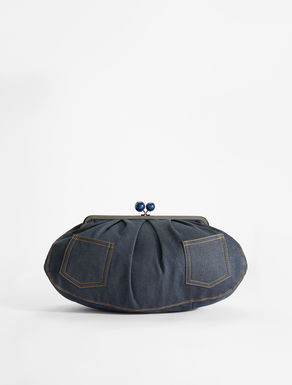 Pasticcino Bag large in denim Weekend Maxmara