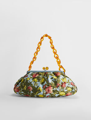 Pasticcino Bag large in tessuto broccato jacquard Weekend Maxmara