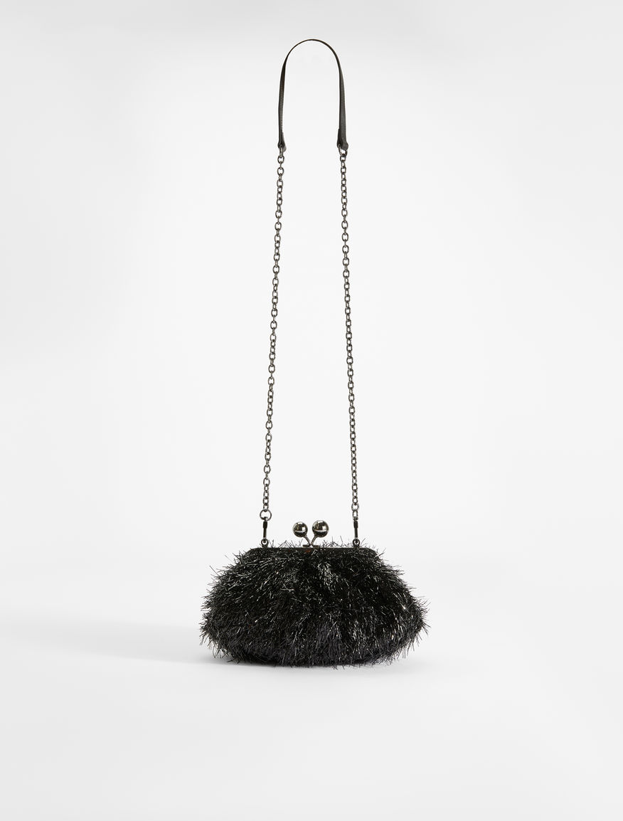 Fringed lurex mini Pasticcino Bag  Weekend Maxmara