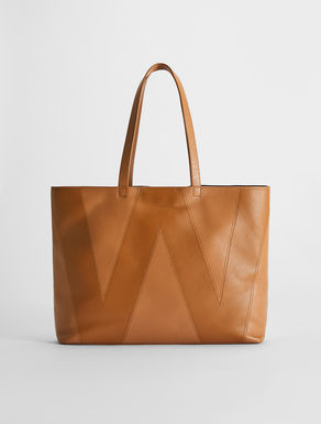 Deerskin-print leather shopper Weekend Maxmara