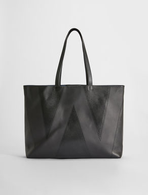 Shopping Bag in pelle stampa cervo Weekend Maxmara