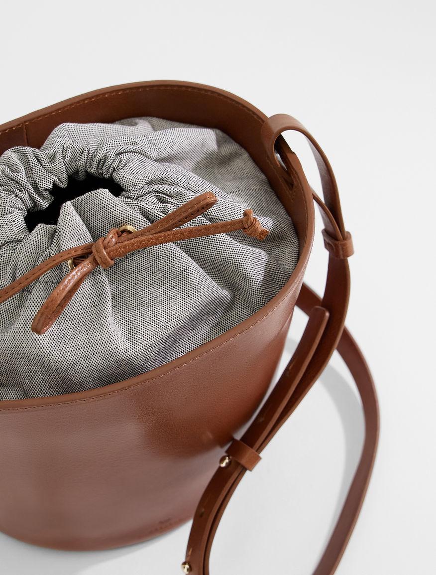Leather bucket bag Weekend Maxmara