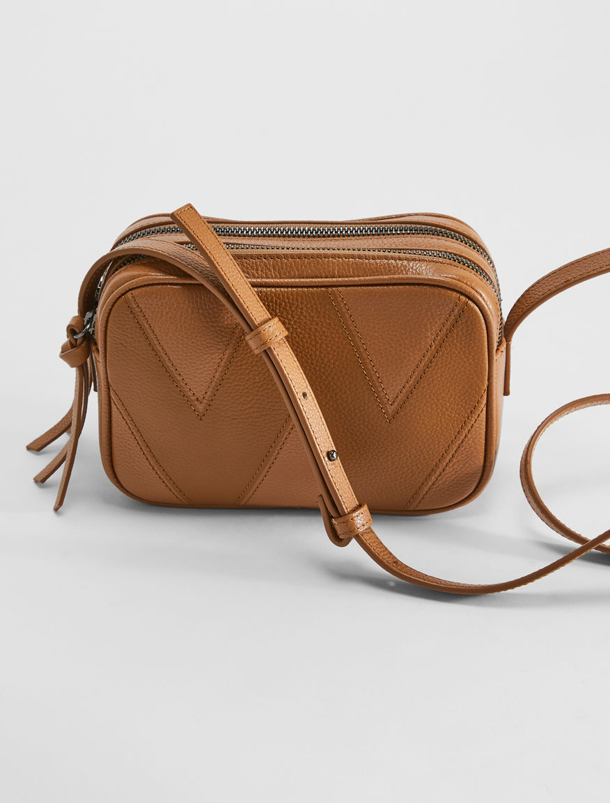 Deerskin-print leather camera bag Weekend Maxmara