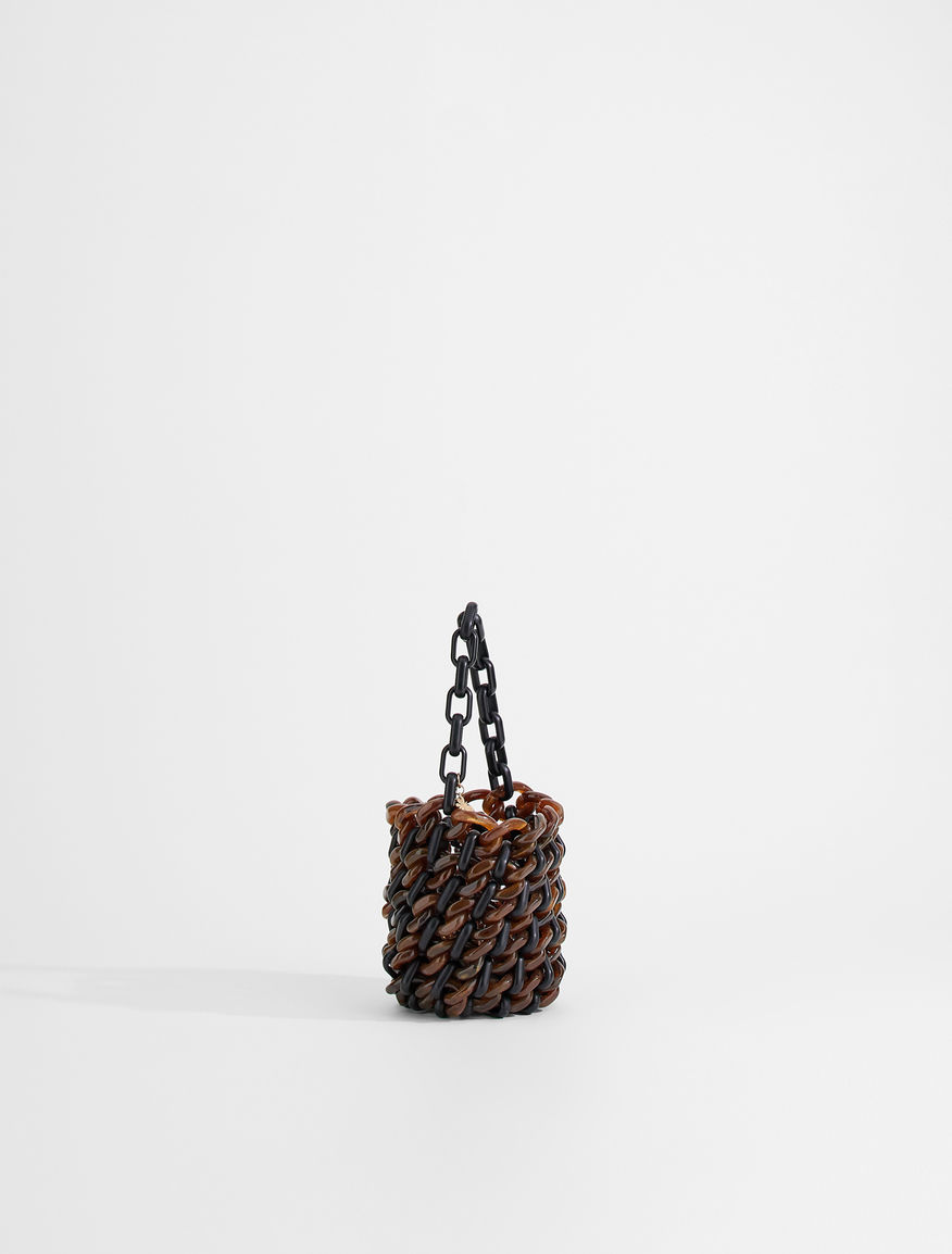 Resin chain bucket bag Weekend Maxmara