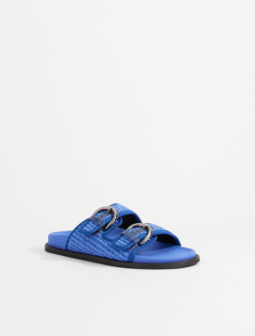 Raffia fussbett sandals Weekend Maxmara