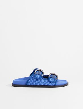 Raffia fussbett sandals Weekend Maxmara