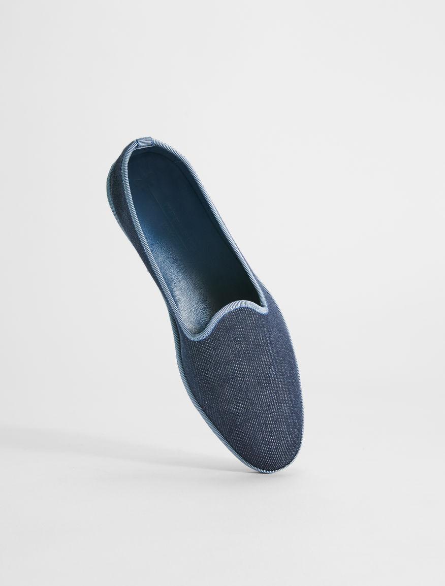 Loafer in denim Weekend Maxmara