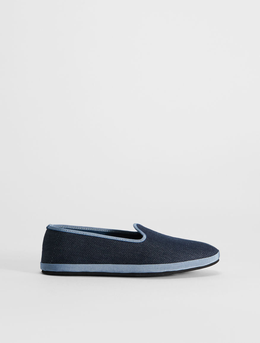 Loafer in denim Weekend Maxmara