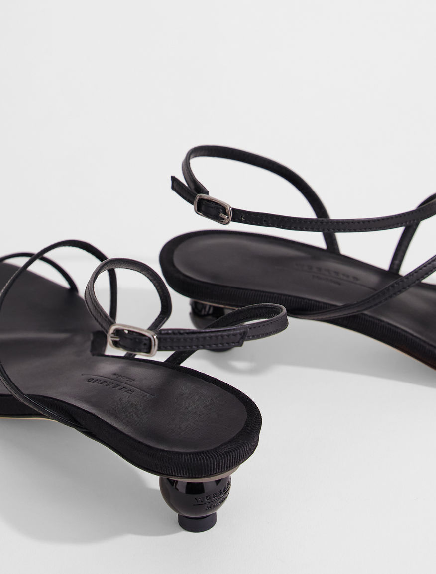 Nappa leather sandals Weekend Maxmara