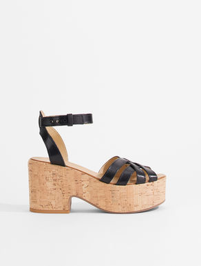 Leather sandals Weekend Maxmara