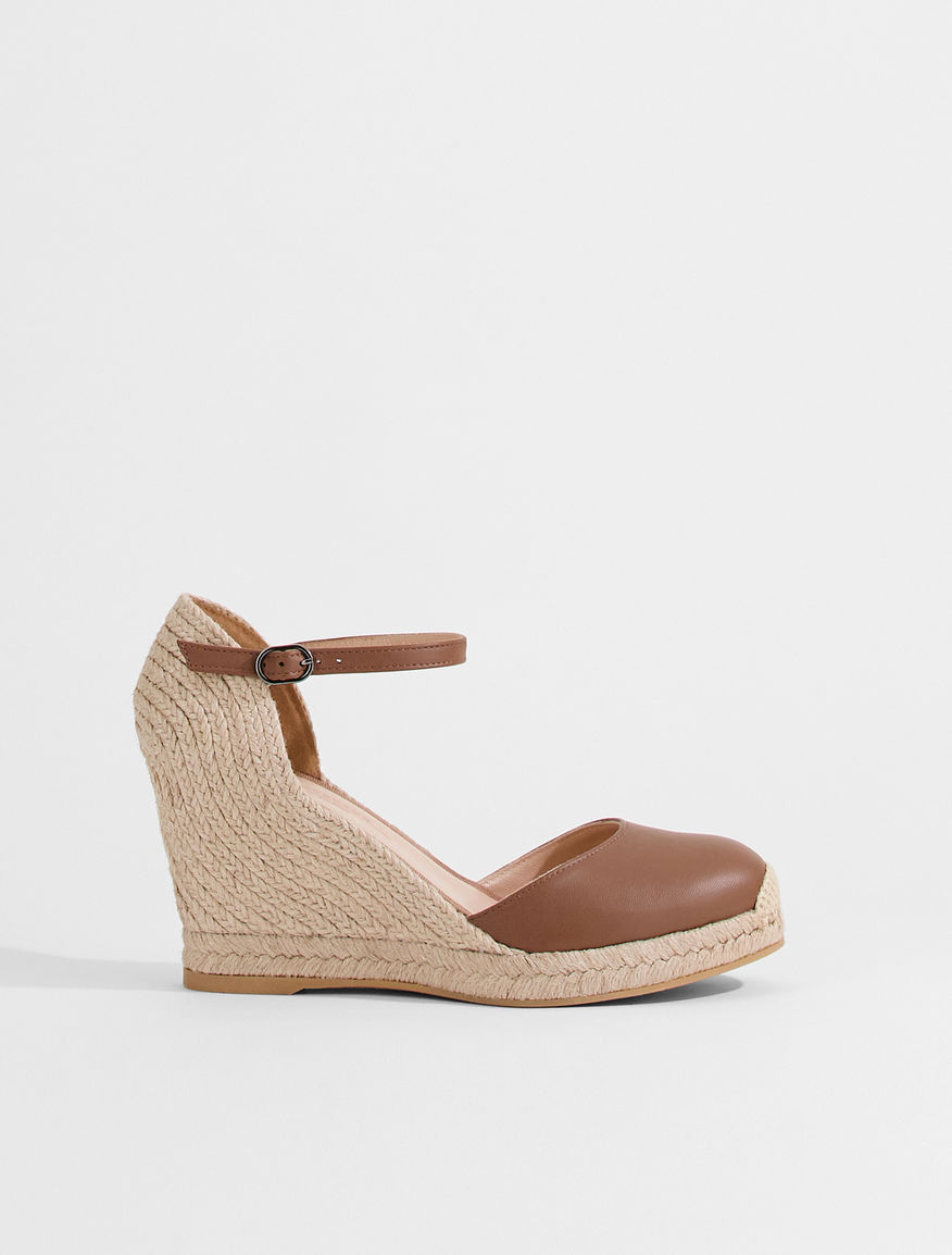 Nappa leather espadrille sandals Weekend Maxmara