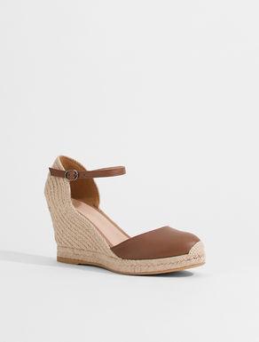Nappa leather espadrille sandals Weekend Maxmara