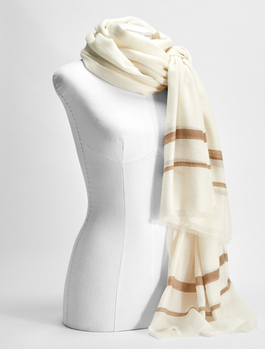 Wool, modal and cashmere scarf Weekend Maxmara