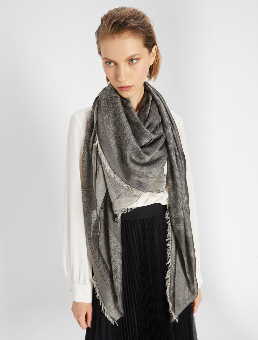 Silk and cotton shawl Weekend Maxmara