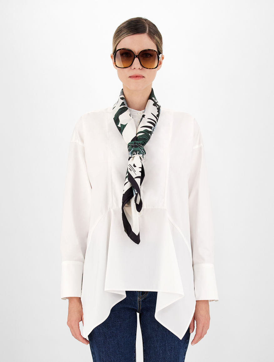 Foulard in twill di seta Weekend Maxmara