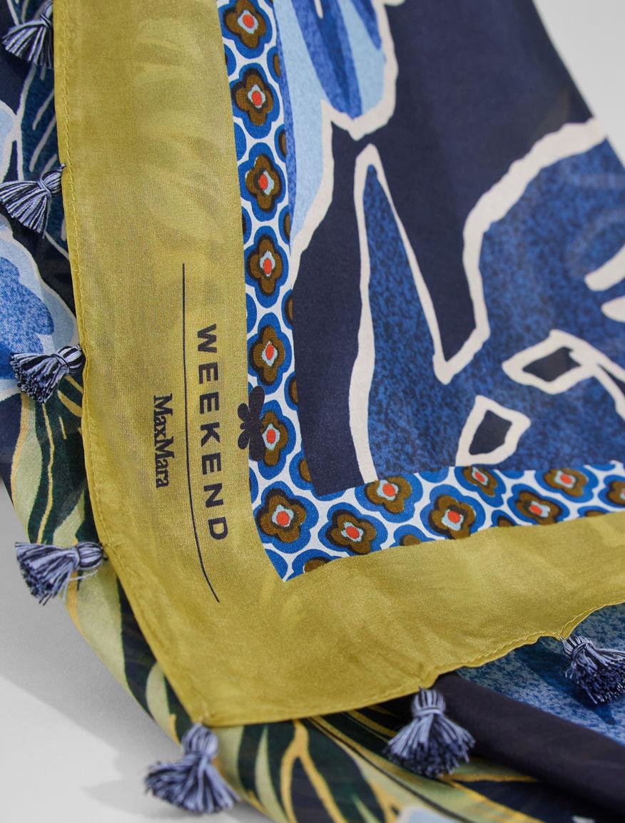 Silk yarn shawl Weekend Maxmara