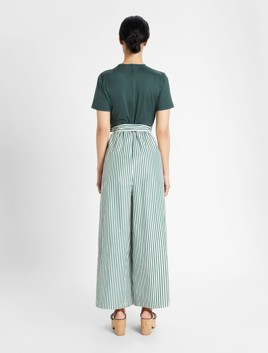 Jersey and cotton poplin jumpsuit Weekend Maxmara