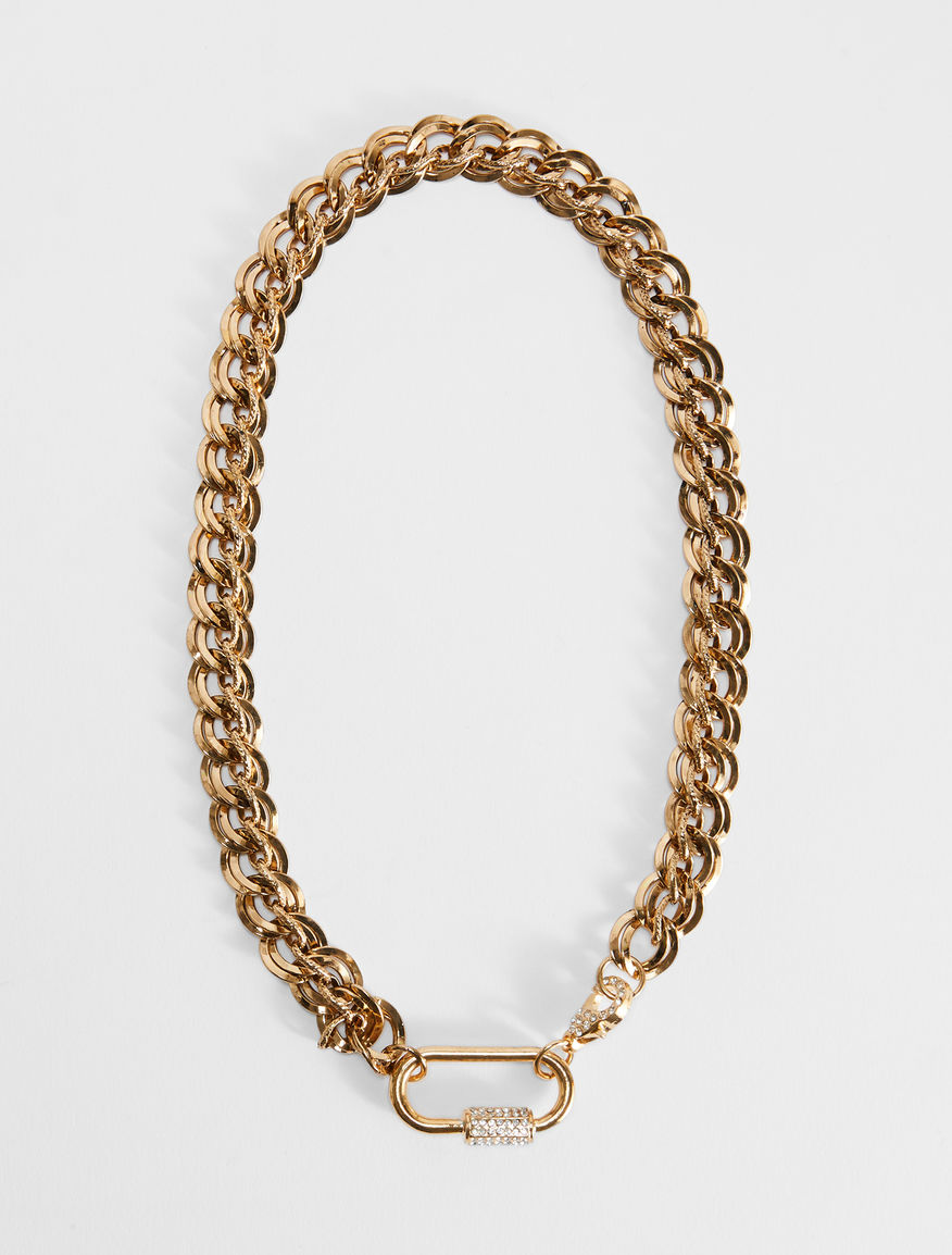 Chain necklace with snap-hook clasp Weekend Maxmara