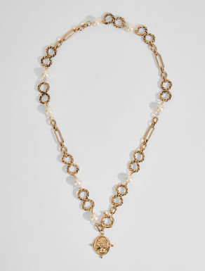 Chain necklace with beads Weekend Maxmara