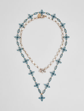 Set of rhinestone necklaces Weekend Maxmara
