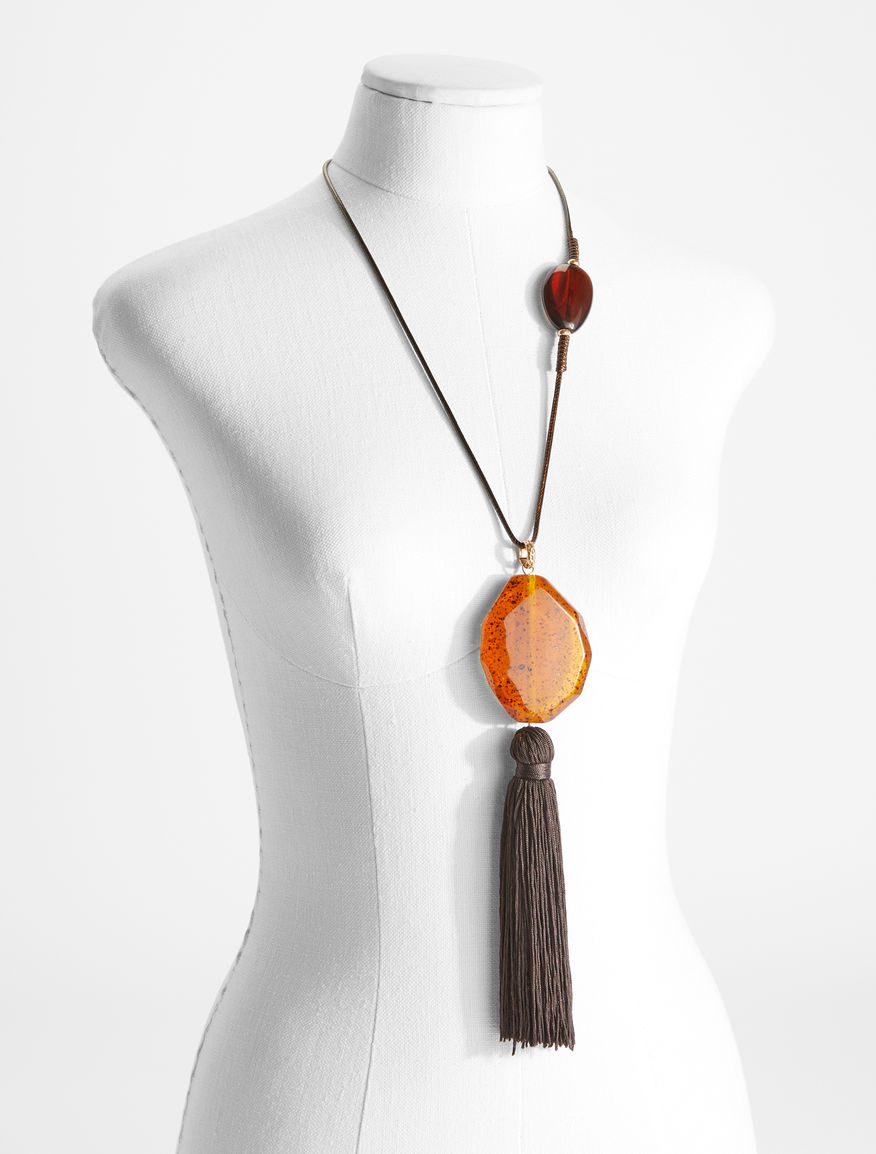 Necklace with maxi tassel pendant Weekend Maxmara