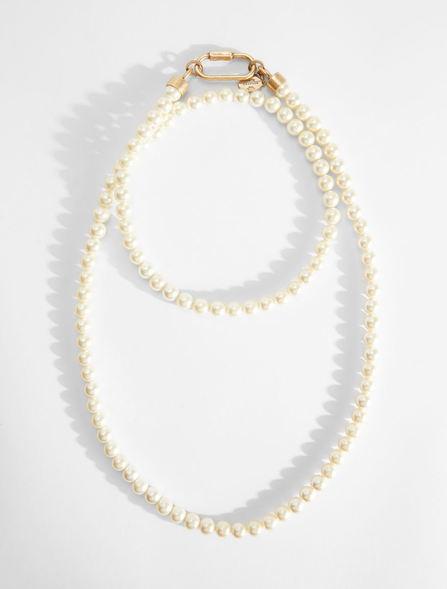 Collana lunga con perle Weekend Maxmara