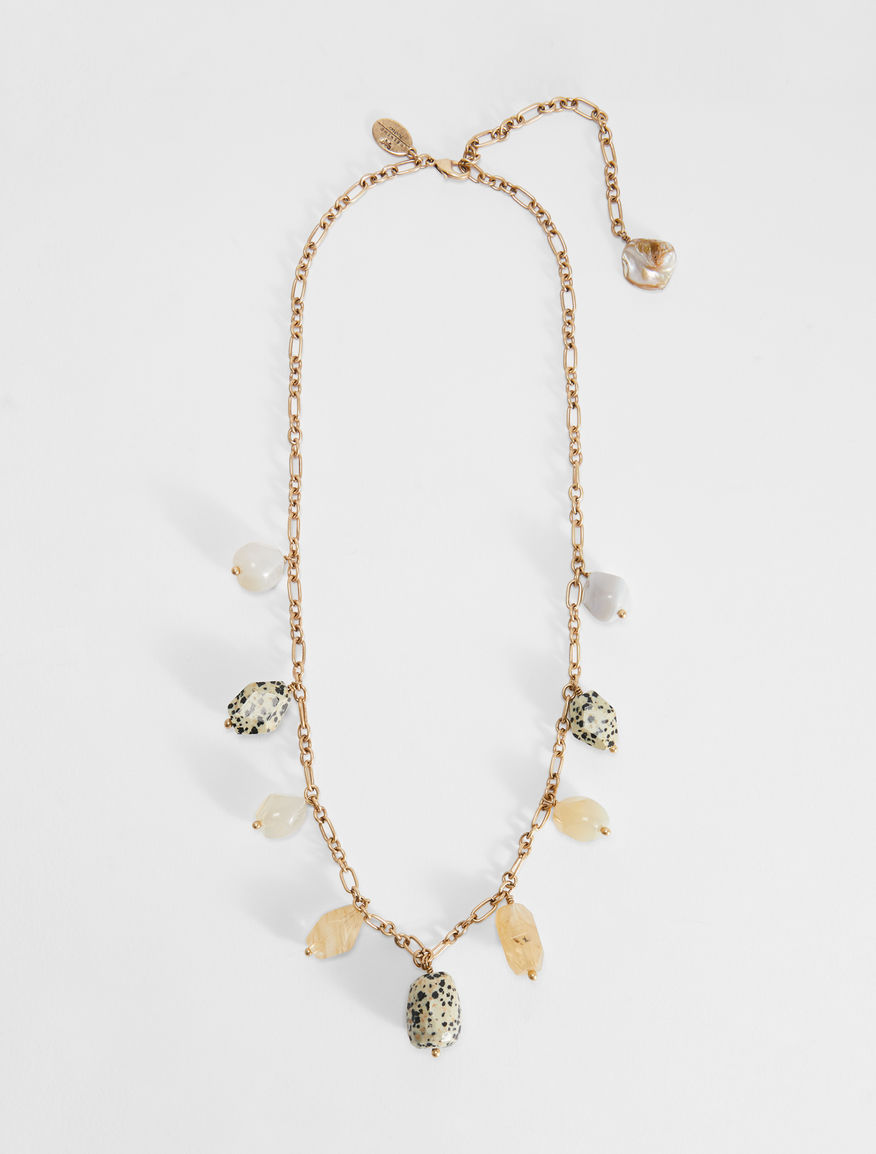 Necklace with stone charms Weekend Maxmara
