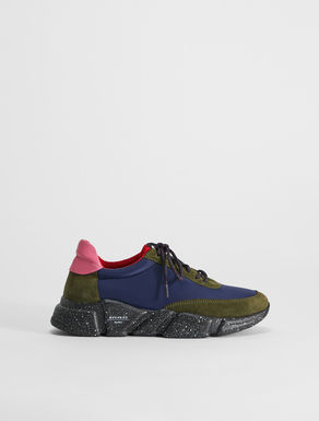 Sneaker in pelle, rete e suede Weekend Maxmara