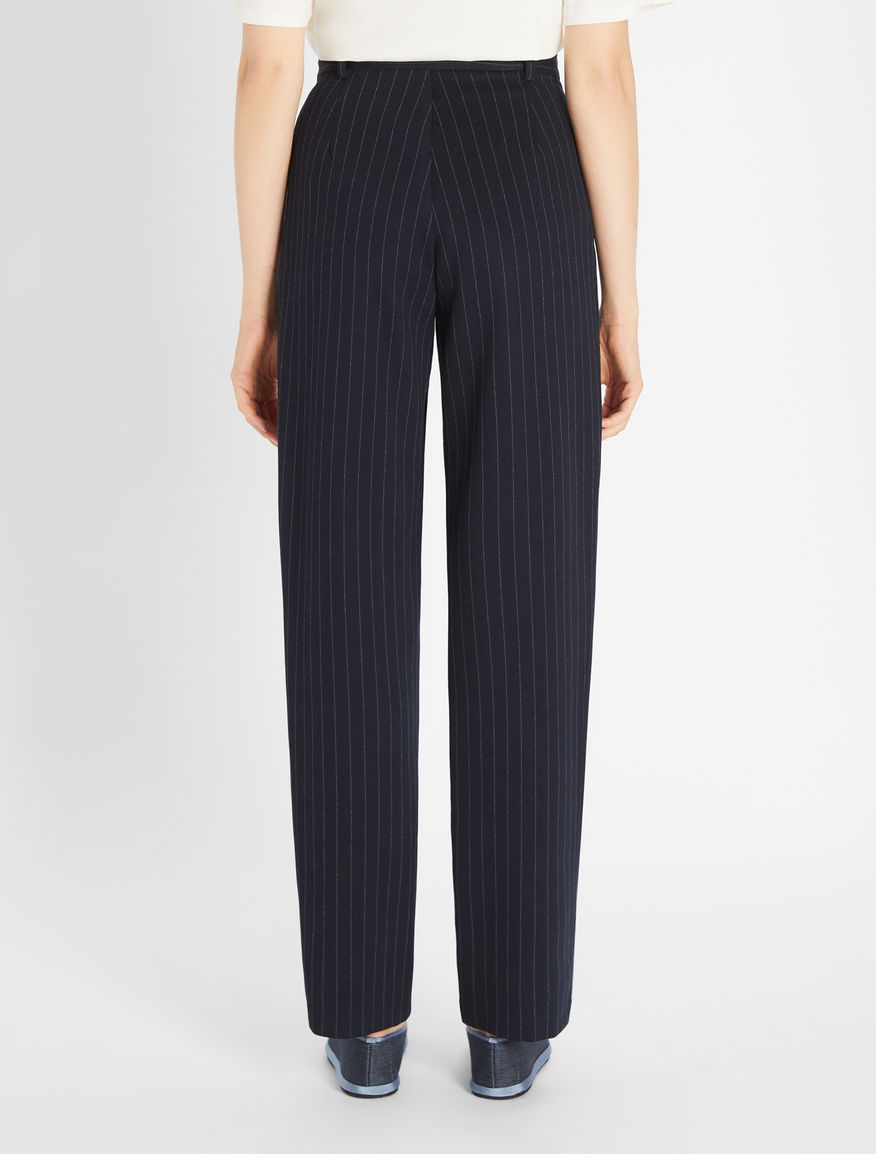 Cotton viscose trousers Weekend Maxmara