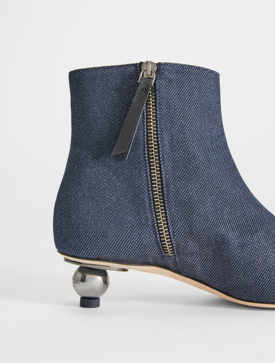 Denim ankle boot Weekend Maxmara