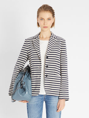 Cotton jersey blazer Weekend Maxmara