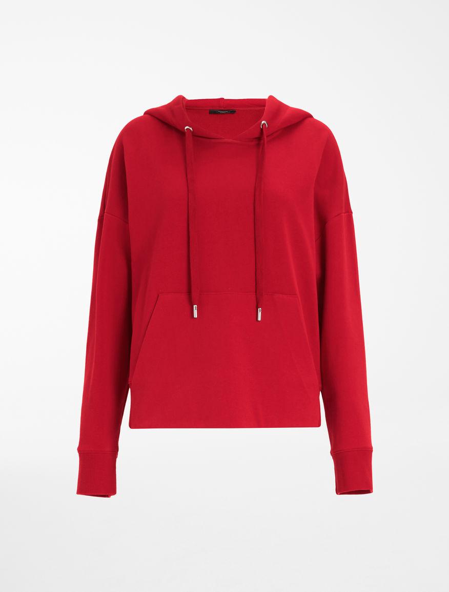 Cotton jersey hoodie Weekend Maxmara