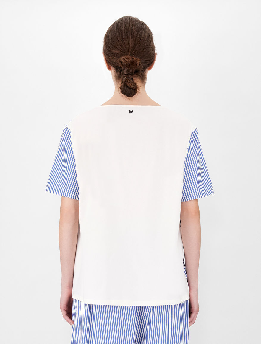 Cotton poplin T-shirt Weekend Maxmara
