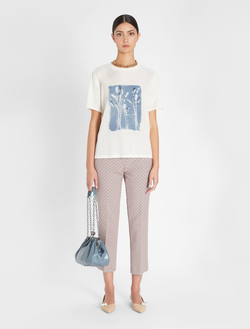 Silk crepe de chine T-shirt Weekend Maxmara