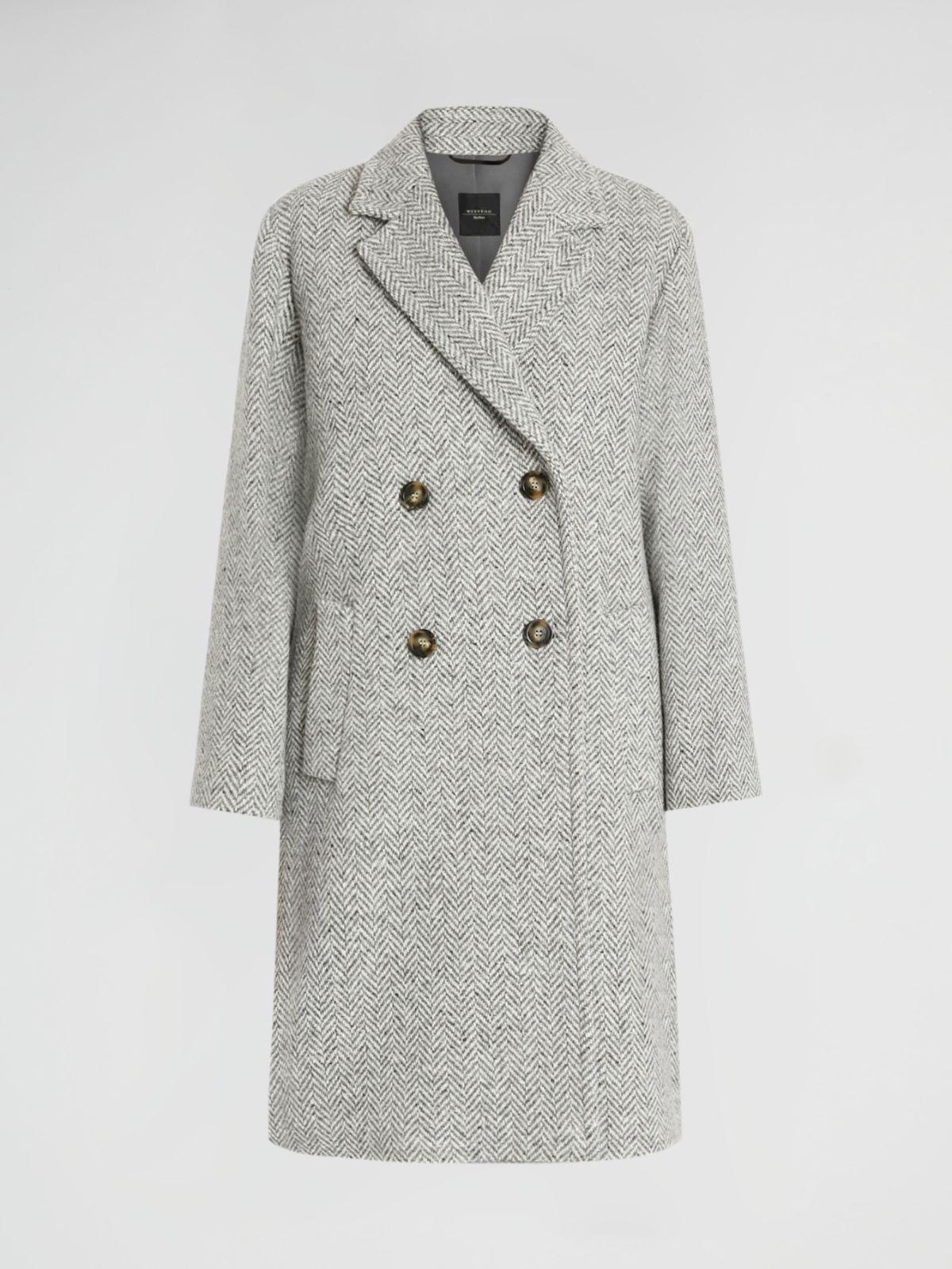 Wool-blend tweed coat Weekend Maxmara