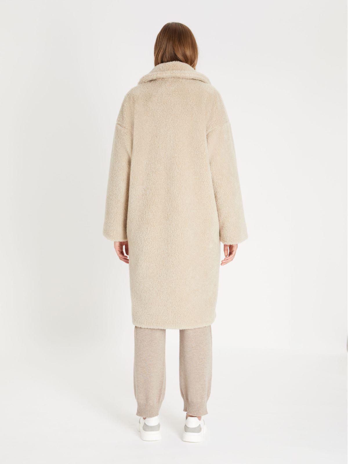 Fur-look wool-blend coat Weekend Maxmara