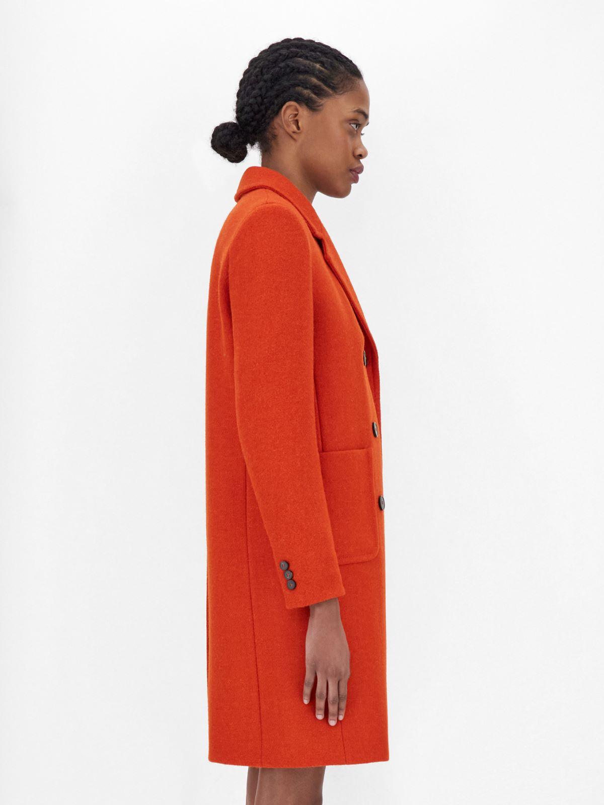 Harris Tweed wool coat Weekend Maxmara